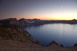 Crater Lake at Dusk