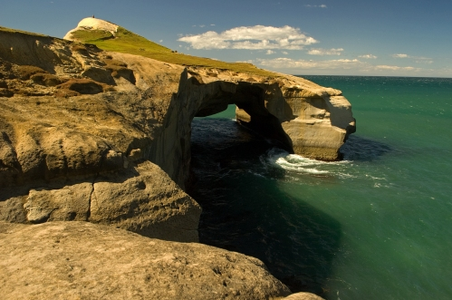 Sea Arch at Tunnel Beach