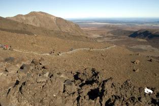 Trekking across Mordor...