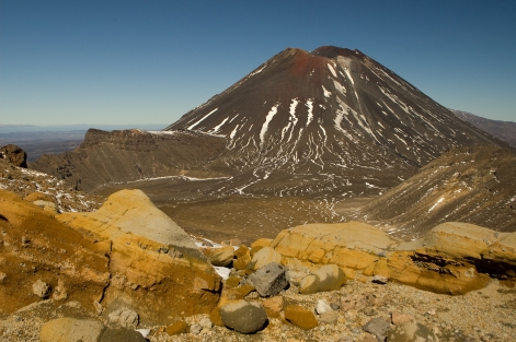 Mount Ngarahoe (a.k.a. Mt. Doom) in Tongariro National Park