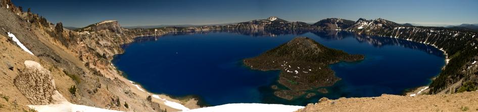 Crater Lake Panorama, July 2010