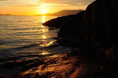 Sunset at Larrabee State Park