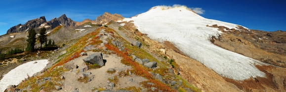 Mt. Baker and the Easton Glacier, WA