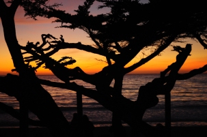 Sunset at Carmel Beach