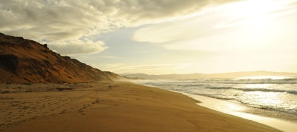 Sunset at Fort Ord Dunes SP