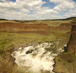Cascades on Palouse River