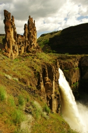 Castle Rock at Palouse Falls