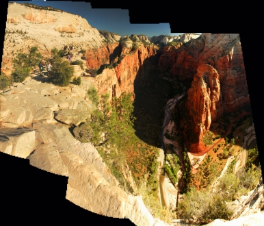 Angels Landing View