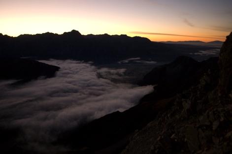 Mt. Ollivier at Dawn