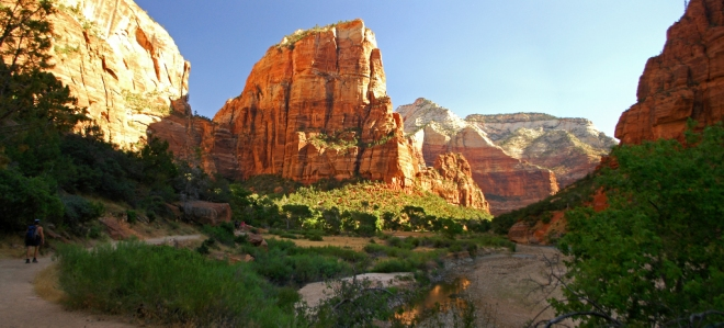 Virgin River and Angel's Landing