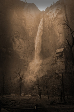 Temple of Sinawava Waterfall