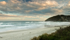 St. Clair Beach, Dunedin (1.5 sec exposure with grad ND filter)