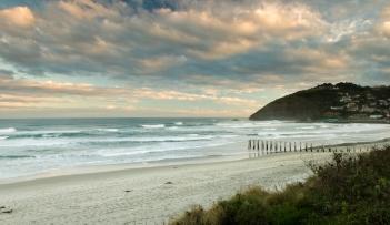 St. Clair Beach, Dunedin (1.5 sec exposure with grad ND filter)