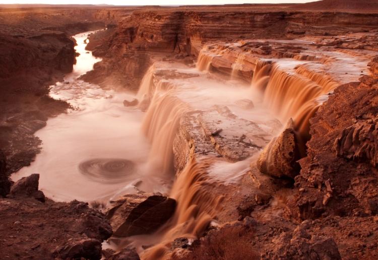 Grand Falls in Northern Arizona