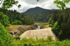 Former Elwah Dam site, Olympic National Park, Washington
