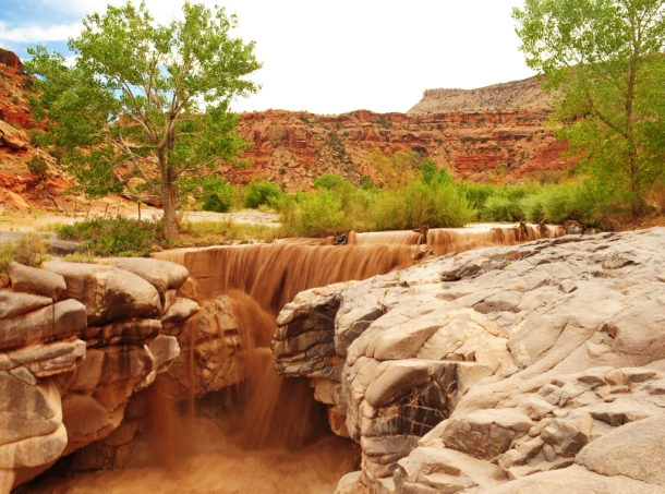 Flash Flood, Dominguez–Escalante National Conservation Area, Colorado