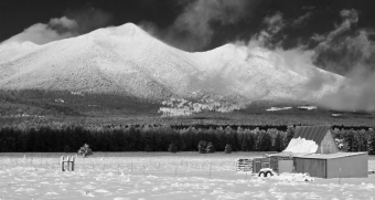 San Francisco Peaks after a fresh snowfall