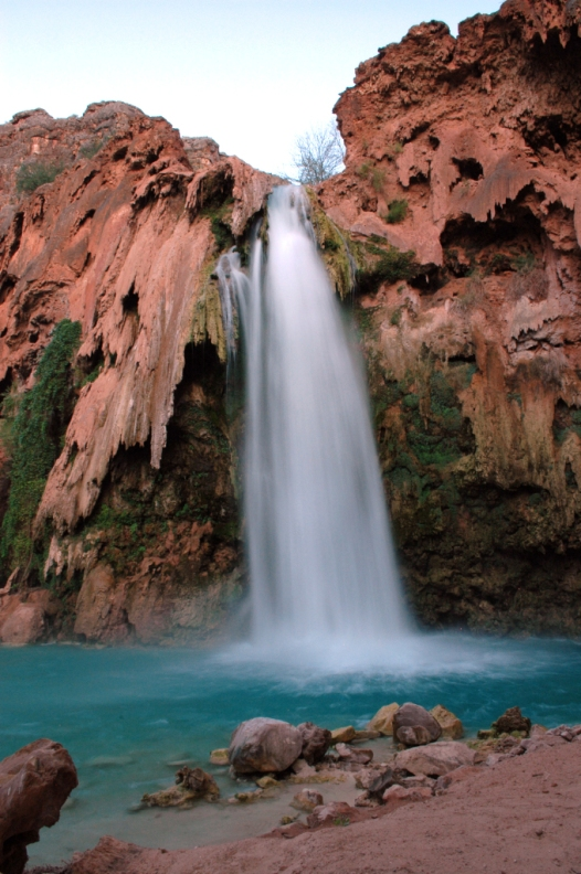 Havasu Falls, the gem of Havasu Canyon