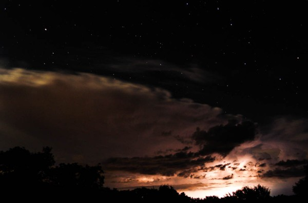 Lightning and the Big Dipper