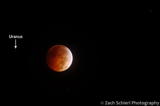 Total lunar eclipse October 2014