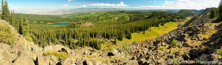 Panorama from Crag Crest, Grand Mesa, Colorado