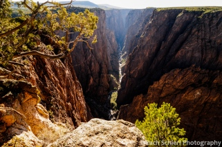 Black Canyon of the Gunnison from Excalmation Point