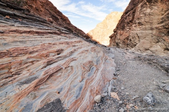 Rock patters in Mosaic Canyon, Death Valley National Park