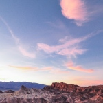 Sunset at Zabriskie Point, Death Valley National Park