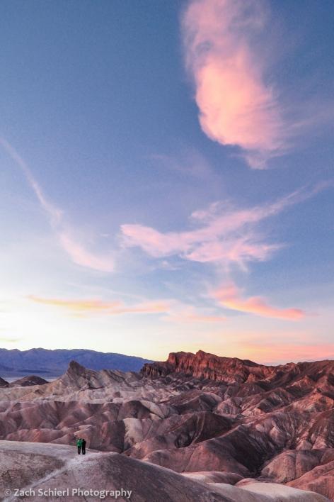 Sunset at Zabriskie Point, Death Valley National Park