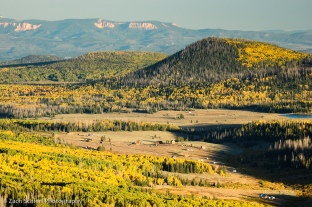 Golden aspens on the Markagunt Plateay