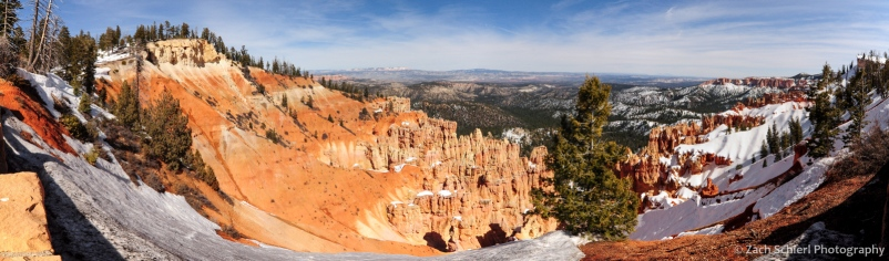 Panoramic view from Farview Point, Bryce Canyon National Park