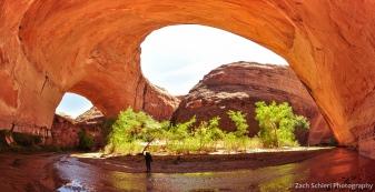 Jacob Hamblin Arch, Coyote Gulch, Glen Canyon National Recreation Area, Utah