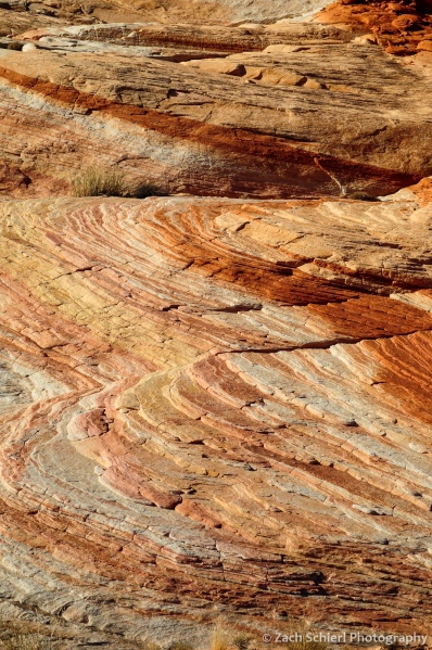 Vibrant colors in the Aztec Sandstone in Valley of Fire State Park, Nevada