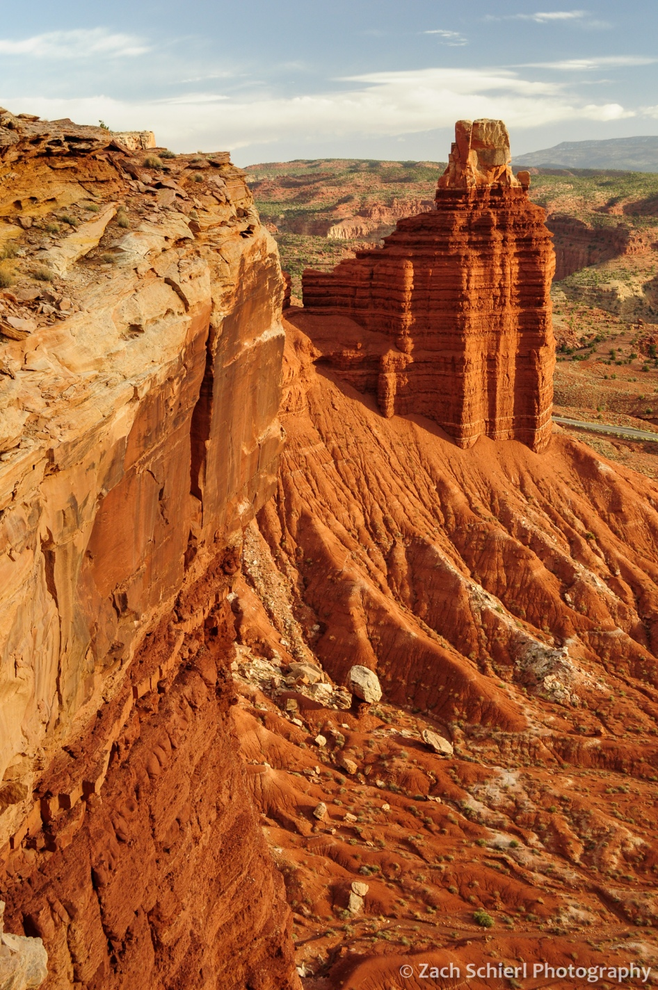 Chimney Rock, Capitol Reef National Park, Utah