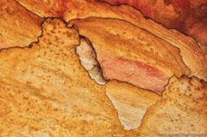 Patterns in colorful sandstone, Capitol Reef National Park, Utah