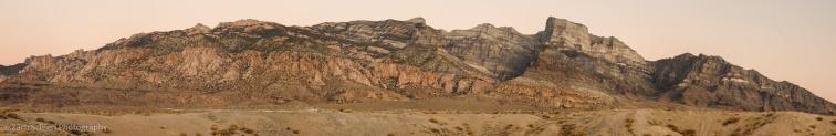 Panorama of the House Range, Utah
