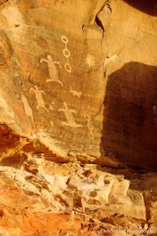 Petroglyphs in the shape of Desert Tortoises.