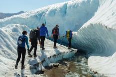 The Root Glacier, Wrangell-St. Elias National Park and Preserve, Alaska