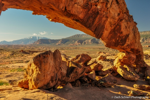 Sunset Arch, Grand Staircase-Escalante National Monument, Utah