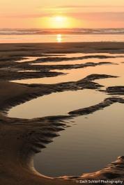 Sunset from Rockaway Beach, OR